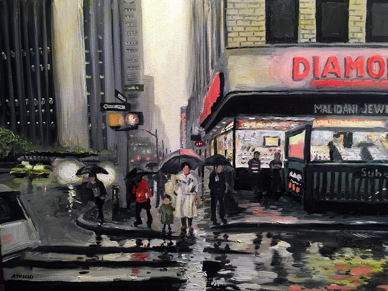 三浦 良一 「ダイヤモンド街の雨音」